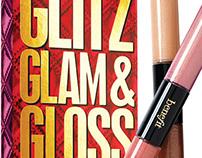 Benefit: glitz glam & gloss