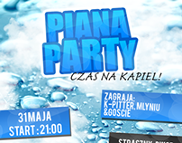 Piana Party Official Poster