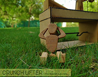 CRUNCH LIFTER - The Wooden Automata
