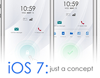 iOS 7: Just a concept | Part1: Lock Screen
