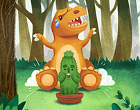 Prickly the Cactus Picture Book