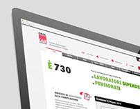 CAAF CGIL Lombardia website