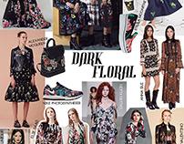 Colagem | Floral Dark
