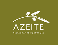 AZEITE Logo & Identity Design