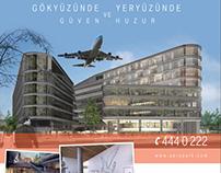 Aero Park advertising