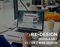Re-Design Single Page - Skuola.net