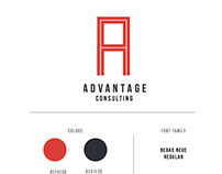 Advantage Consulting Identity Design