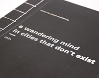 a wandering mind in cities that don't exist
