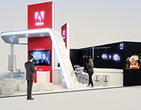ADOBE Systems Exhibition Booth