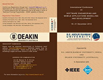 Brochure for International Conference