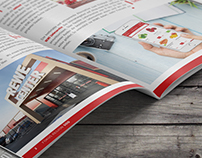 REWE - Editorial Design Fokus Region