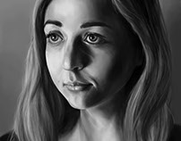 Digital Portrait based on In Class Photos