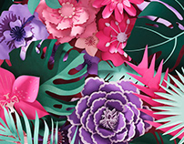Tropical Flowers - Real Simple Magazine