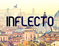 Inflecto - free Personal & Commercial font