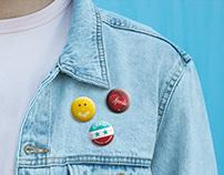 Retro Buttons