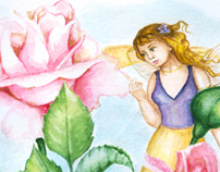 Fairies and roses