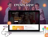 Events Now : Unique Events Planning Website
