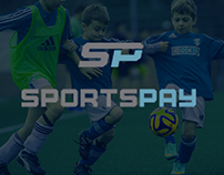 WEBSITE DESIGN: Sportspay HQ