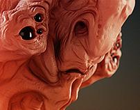 Alien Bust Study