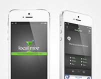 iPhone App Design - localMixr