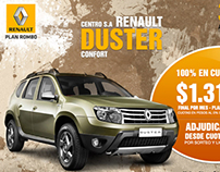 Renault Duster - newsletter