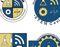 STEM Logo, Wake Tech STEM Department