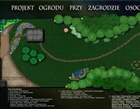 """Projekt ogrodu przy """"Zagrodzie Osoczników"""""""