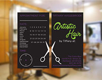 Artistic Hair Business Cards