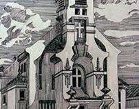 Igreja do Galo(bico de pena)