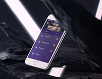 Modern iOS app for a Connected Home Product