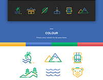 Explore Travel - Icon Set