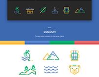 Explore Travel - Icon Set