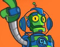 Cromwell - Mascot Design