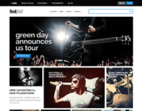 RockWall -  Responsive WordPress Music Theme