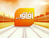 Idents for AFAQ Satellite Channel