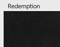 Redemption in HK Grotesk Pro