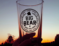 Big Bear 2014 Commemorative Pint Glass