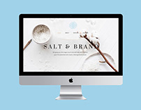 Website of Salt & Brand