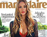 Marie Claire CZ July 2016 Hannah Ferguson