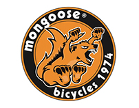 NEW Mongoose 'Maurice' headbadge'