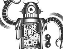 KAISER CHIEFS, Official Tour Poster.