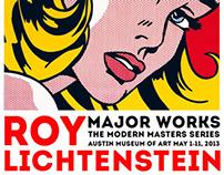 Roy Lichtenstein Museum Poster