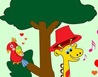 Basic Cartoonic Illustration for KIds