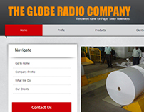 Website for International Company