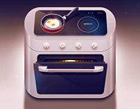 Electric range iOS icon