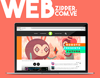 Web Site Zipper.com.ve