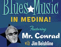 Live Blues Music poste