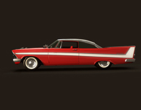 Christine, the 1958 Plymouth Fury