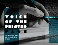 Typewheel Magazine Spreads
