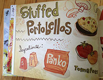 Illustrated Recipe published in They Draw and Cook